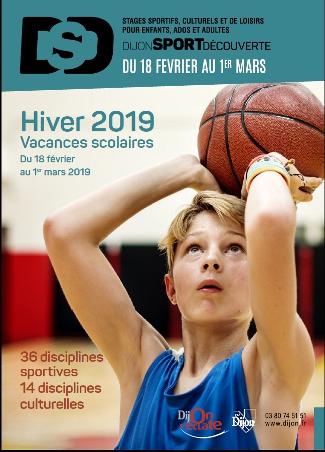 Dijon Sport Découverte – Hiver 2019
