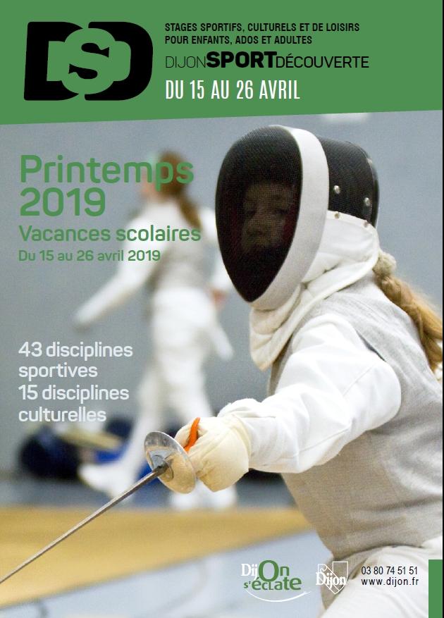 Dijon Sports Découverte – Printemps 2019