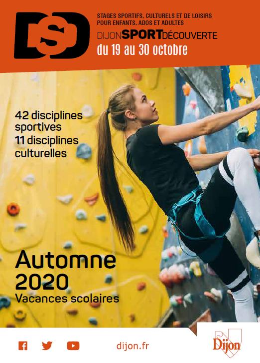 Dijon Sport Découverte – Automne 2020